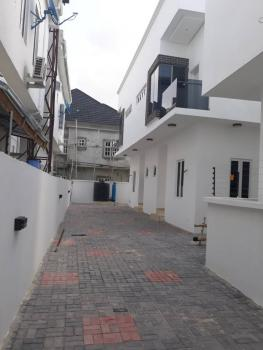 Newly Built 4 Bedroom Semi Detached House with a Room Bq, Osapa, Lekki, Lagos, Semi-detached Duplex for Sale