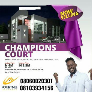 Champions Court Behind Amen Estate, Behind Amen Estate Phase 1, Eleko, Ibeju Lekki, Lagos, Residential Land for Sale