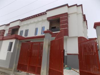Tastefully Finished 4 Bedroom Terraced Duplex with Separated Self Compound, 24 Hours Constant Electricity, Just After Chevron Roundabout, Lekki Expressway, Lekki, Lagos, Terraced Duplex for Sale