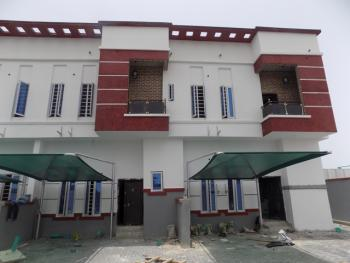 Tastefully Finished 4 Bedroom Terraced Duplex  with 24 Hours Constant Electricity, After Chevron Roundabout, Lekki Expressway, Lekki, Lagos, Terraced Duplex for Sale