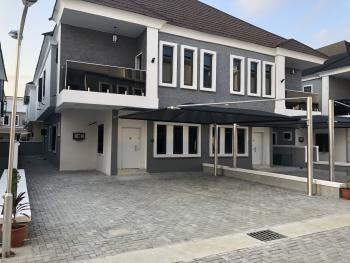 Tastefully Finished 4 Bedroom Semi Detached with Bq  in a Gated Estate , 24 Hours Constant Electricity, After Checvron Roundabout, Lekki Expressway, Lekki, Lagos, Semi-detached Duplex for Sale