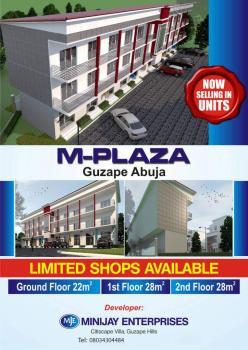 28sqm Shops, M Plaza, Around Coza Church, Guzape District, Abuja, Shop for Sale