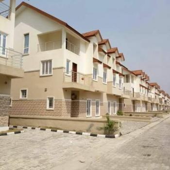 Luxury 3 Bedroom Terraced Duplex with a Room Bq, By Orchid Road, Lafiaji, Lekki, Lagos, Terraced Duplex for Rent