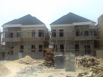 an Off Plan 4 Bedroom Semi-detached Duplex with a Room Boys Quarter, Agungi, Lekki, Lagos, Semi-detached Duplex for Sale