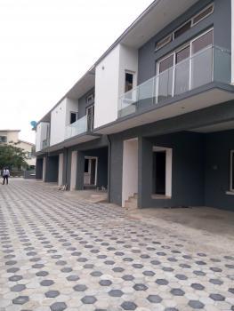 Newly Built 4 Units of 3 Bedroom Terrace Duplex with a Room Bq, Fitted Kitchen, Etc, Ocean Bay Estate, Ikota Villa Estate, Lekki, Lagos, Terraced Duplex for Sale