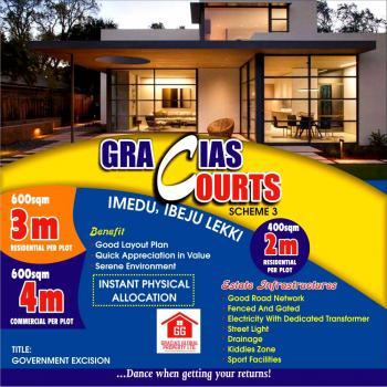 Gracias Courts(approved Govt Excision)ibeju Lekki,lagos Nigeria, Lekki Free Trade Zone Road, Orimedu, Ibeju Lekki, Lagos, Residential Land for Sale