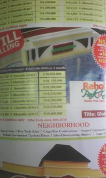 Affordable Land, Beside Free Trade Zone, Ibeju Lekki, Lagos, Mixed-use Land for Sale
