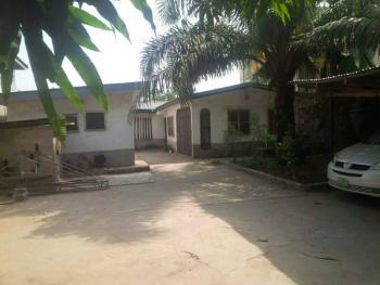 3 Bedroom Bungalow + Mini Flat Set Back on Full Plot of Land, Navy Town, Alakija, Satellite Town, Ojo, Lagos, Detached Bungalow for Sale
