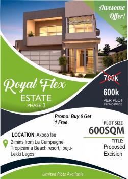 Royal Flex Estate Phase 3, Folu Ise Village, Along Lekki Free Trade Zone Road, Ibeju Lekki, Lagos, Residential Land for Sale