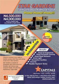 Lands, Majek Street, Sangotedo, Ajah, Lagos, Residential Land for Sale