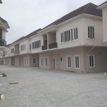 Lovely 4 Bedroom Terraced Duplex with Bq, Ochid Road, Lafiaji, Lekki, Lagos, Terraced Duplex for Rent