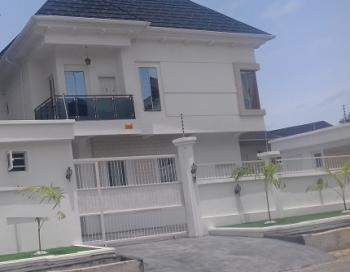 a Nicely Built 4 Bedroom Semi-detached Duplex with a Room Boy's Quarter, Chevron, Lekki, Lagos, Semi-detached Duplex for Sale