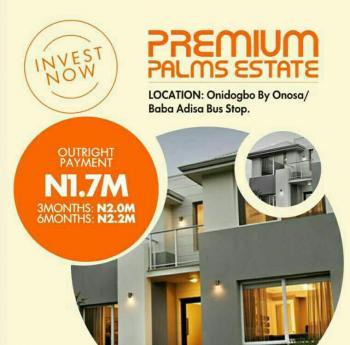 Super Dry Land at Premium Palm Estate, Buy 3 and Get One Free, Premium Palm Estate, Onasa, Before Eleko, Sangotedo, Ajah, Lagos, Land for Sale