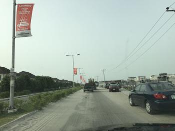 Commercial Land, Monastery Road, Beside Novare Mall, Sangotedo, Ajah, Lagos, Commercial Land for Sale