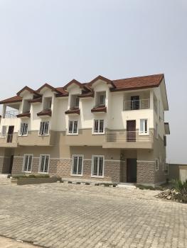 4 Bedroom Terrace House with Bq, Cooplag Garden Estate, By Orchid Hotel, Lafiaji, Lekki, Lagos, Terraced Duplex for Rent