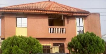 Storey Building Consisting of 4- Self-contained Rooms Upstairs 3- Self-contained Rooms Downstairs, Ekong Bassey, Opposite The International Airport, Calabar, Cross River, Semi-detached Duplex for Sale
