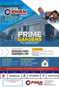 Prime Gardens, Journalists Estate, Berger, Arepo, Ogun, Residential Land for Sale
