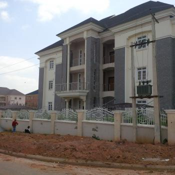 Amazingly Finished & Solidly Built 6 Units, 3 Bedroom Flat with Bq, Off Olusegun Obasanjo Way, Wuye, Abuja, Flat for Rent