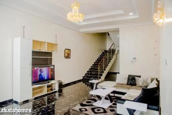a Beautiful Modern Furnished 4 Bedroom Duplex with State of The Finishing, Ikate, Lekki Phase 1, Lekki, Lagos, Detached Duplex Short Let