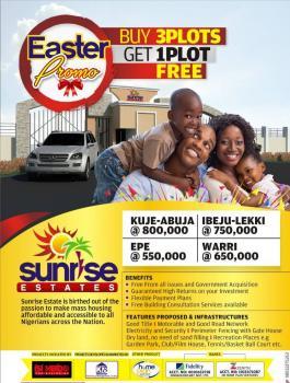 Sunrise Estate, Ibeju Lekki, Lagos, Residential Land for Sale