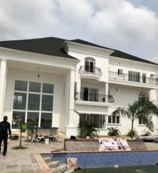 Extra Luxury 5 Bedroom Waterfront Mansion with Swimming Pool and Private Jetty on 2300sqm Land, Banana Island, Ikoyi, Lagos, Detached Duplex for Sale