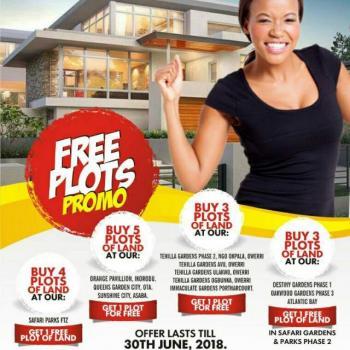 Buy 4 Plots and Get One Plot Free, Safari Parks, Lekki Trade Zone, Eleko, Ibeju Lekki, Lagos, Residential Land for Sale