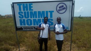 The Summit Homes Estate, Behind The Novare Mall(shoprite)  Off Monastery Road, Sangotedo, Ajah, Lagos, Residential Land for Sale