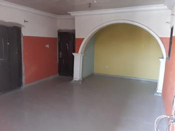 Clean 3 Bedroom Flat, Cement Bus Stop, Ago Palace, Isolo, Lagos, Flat for Rent