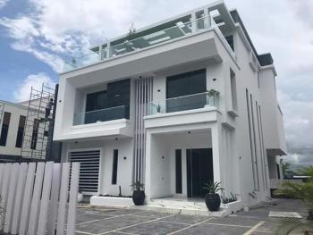 Magnificent Newly Built 5 Bedroom Duplex  with Lagoon View with 2 Rooms Boys Quarters, Osapa, Osapa, Lekki, Lagos, Detached Duplex for Sale