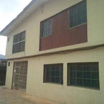 Vacant Block of 4 Flats of 3 Bedrooms Each on a Plot of Land, Off Orelope Bus Stop, Egbeda, Alimosho, Lagos, Block of Flats for Sale