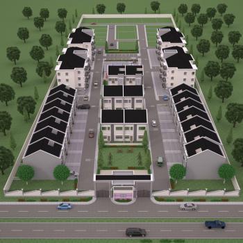 4 Bedroom Terrace Apartments, Monastery Road, Opposite Golden Jubilee Estate, Sangotedo, Ajah, Lagos, Terraced Duplex for Sale