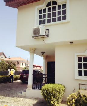 2 Units of 4 Bedroom Duplex with a Study Room Plus 1 Rooms Boys Quarters + Kitchen on a Land Size, Walking Distance to The Novare (shoprite), Crown Estate, Ajah, Lagos, Semi-detached Duplex for Sale