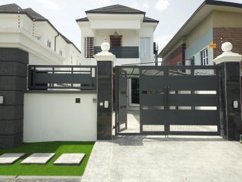 Luxury 5 Bedroom Duplex with Bq and Cctv Surveillance Cameras, Chevy View Estate, Lekki, Lagos, Detached Duplex for Sale