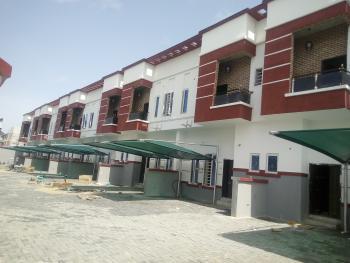 Brand New 4 Bedroom Terrace Duplex, By Chevron, Lekki Expressway, Lekki, Lagos, Terraced Duplex for Sale
