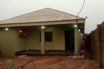 4 Bedroom Completed Bungalow with Shop at The Front a, Excober Bus Stop, By Sedu Estate Extension, Ojigo, Ogun, Detached Bungalow for Sale
