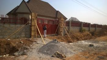 3 Bedroom Bungalow, All En Suit with Visitors Toilet.  600 Sq Meter with Enough Space for Bq, Galadimawa, Abuja, Flat for Sale