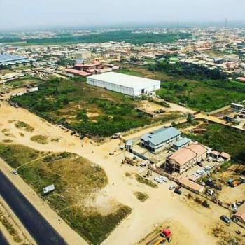 Huge  Expanse of Land with a Warehouse, Before Prayer City, [mfm Church], Berger, Arepo, Ogun, Industrial Land for Sale