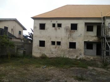 Carcass 4 Units of 3 Bedroom En Suite Upstairs and Downstairs, Ologolo, Lekki, Lagos, Block of Flats for Sale