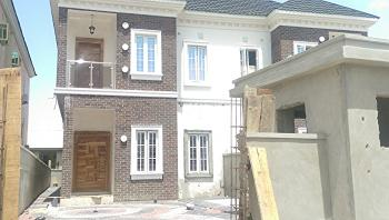 Newly Built Four Bedroom Semi Detached with Bq, Ikota Villa Estate, Lekki, Lagos, Semi-detached Duplex for Sale