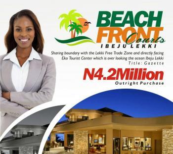 Beach Front Courts, Opposite Eko Tourist Ibeju Lekki, Akodo Ise, Ibeju Lekki, Lagos, Residential Land for Sale