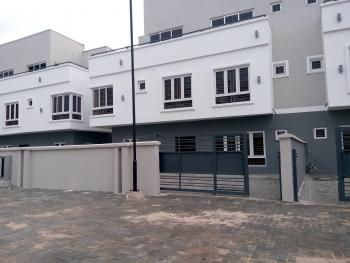 Newly Built Spacious 5 Bedroom Serviced Terraced Duplex with a Room Bq, Fitted Kitchen, Etc. in a Gated Environment, Ologolo, Lekki, Lagos, Terraced Duplex for Sale