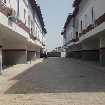 4 Bedroom Luxury Serviced Terrace Duplex, Van Daniel Crescent, Lafiaji, Lekki, Lagos, Terraced Duplex for Rent