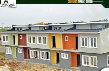 Fast Selling Ensuite Terrance Duplex with Bq, Less Than 15 Minutes Drive From Mayfair Gardens., Lekki Expressway, Lekki, Lagos, Terraced Duplex for Sale