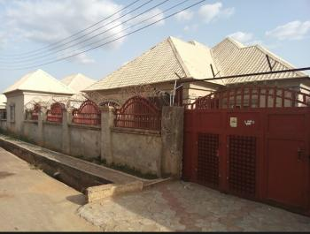 a Solidly Built Detached Bungalow with 3 Very Spacious Rooms and a Bq, Faplins Estate, Few Meters From Sunnyvale Estate, Dakwo, Abuja, Detached Bungalow for Sale