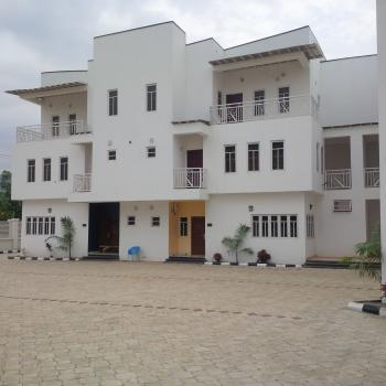 Brand New & First Class Finished 5 Units, 5 Bedrooms Townhouse with a Room Maids Quarters, By Abc Cargo Transport, Near Next Mall, Jahi, Abuja, Terraced Duplex for Sale