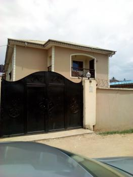 a Relatively New Supper 3 Bedroom  Flat En Suite with Visitors Toilet, All Round Tiles with P.o.p, Off Mobil Bus Stop, Oke-ira, Ogba, Ikeja, Lagos, Flat for Rent