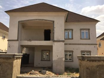 80% Completed 4 Bedroom Detached Duplex, Apo, Wumba, Abuja, Detached Duplex for Sale