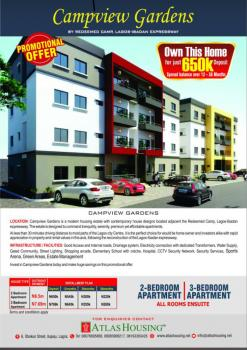Luxurious 3-bedroom Premiuim Apartments (all Rooms Ensuite), Adjacent Rccg Camp, Lagos-ibadan Expressway, Km 46, Ogun, Block of Flats for Sale