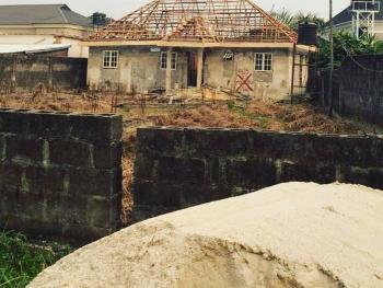 a 2bedroom(en Suite) Uncompleted Building, Animashaun Street,  Vina Estate, Ado, Ajah, Lagos, Detached Bungalow for Sale