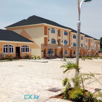 Newly Built & Serviced  18 Units 4 Bedroom Luxury Duplex with a Bq, By Stella Maris College, Life Camp, Gwarinpa, Abuja, Terraced Duplex for Sale